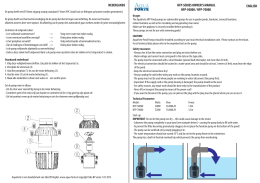 AquaForte HFP-Series Manual