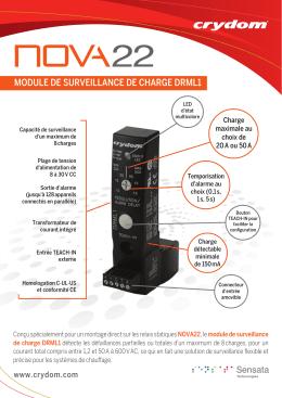 module de surveillance de charge drml1