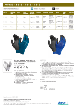 HyFlex® 11-616 - Ansell Catalogue