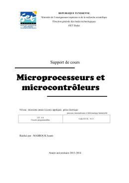 support microprocesseurs - club-telecom univ-07