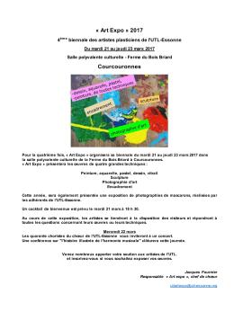 Art Expo » 2017 Courcouronnes - UTL