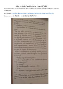 3 pages sur une fellation