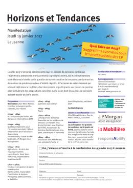 prospectus - Schweizer Personalvorsorge