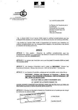 Bundelou - Académie de la Guadeloupe