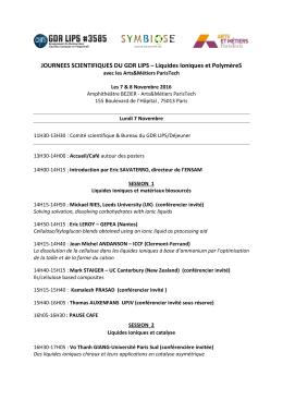 programme - GDR LIPS