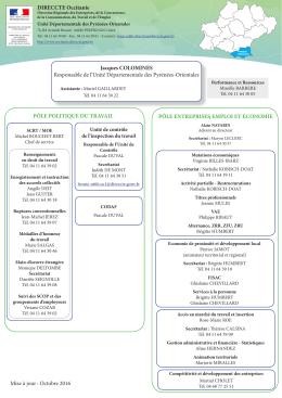 Organigramme de l`UD 66