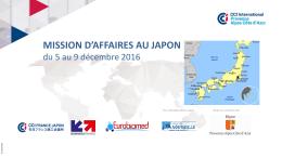 la mission d`affaires au japon
