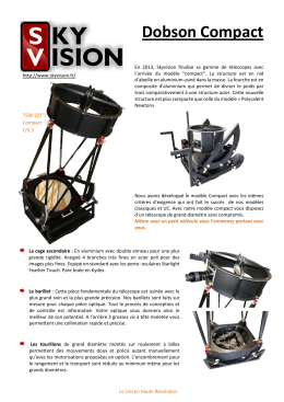 Dobson Compact - Site SkyVision