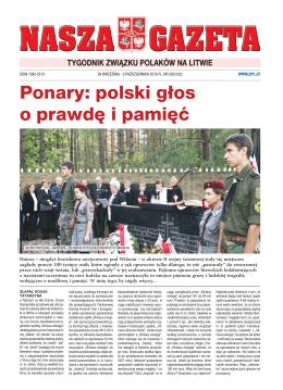 NG 39 - Związek Polaków na Litwie