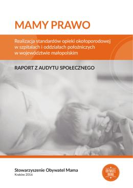 raport ogólny dla województwa małopolskiego