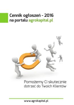 Reklama - agrokapital.pl