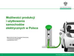 Możliwości produkcji i użytkowania samochodów