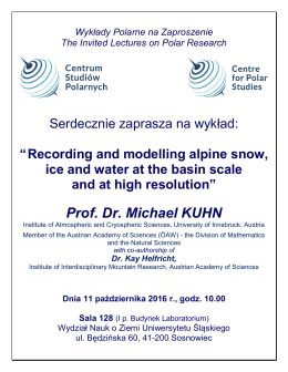 Prof. Dr. Michael KUHN