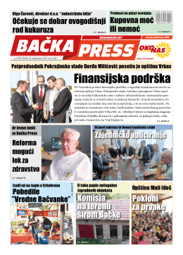BAČKA PRESS br.21 - PREUZMI PDF