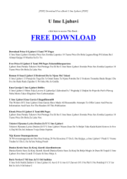 ebook u ime ljubavi pdf