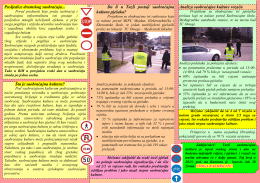 afiše saobraćajna kultura - JU Mješovita srednja saobraćajna