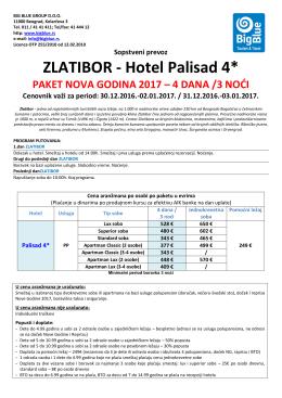 ZLATIBOR - Turistička agencija Big Blue