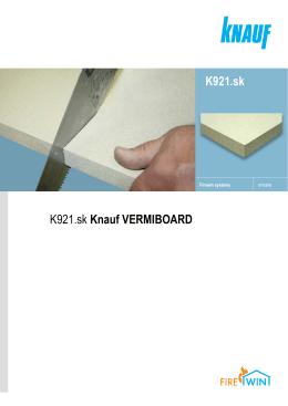 K921.sk K921.sk Knauf VERMIBOARD