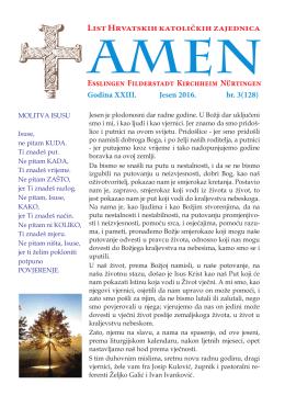 Amen 3 2016 - HKZ Esslingen