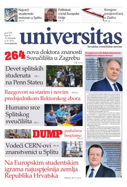 Universitas - br. 83 - Sveučilište u Splitu