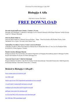 biologija 4 alfa pdf