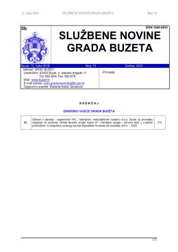 10/2016 - Grad Buzet