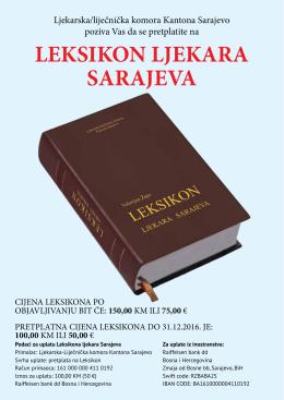 leksikon ljekara sarajeva - ljekarska