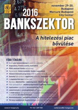 Bankszektor 2016 - IIR Magyarország
