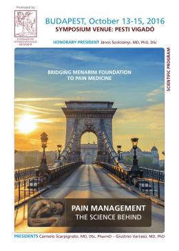 Programme - Fondazione Internazionale Menarini