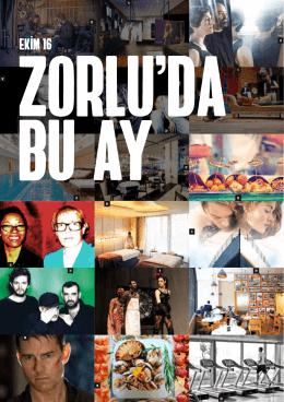 Ekim 2016 - Zorlu Center