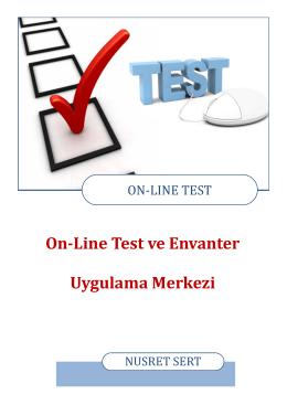 online test ve envanter uygulama kılavuzu için tıklayın