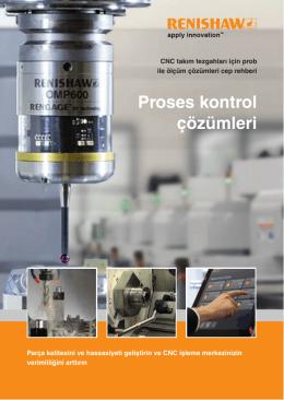 Broşürü: CNC takım tezgahları için prob