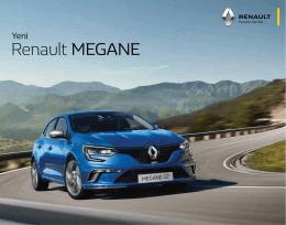 2016 Yeni Renault Megane HB 1.6 115 Joy Ürün Kataloğu