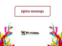 P4 Yetkinlik Eğitimleri Kataloğu[1]