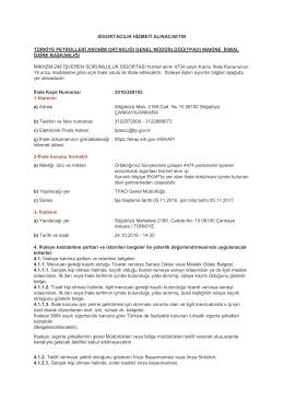 MİKHZM-246 İşveren Sorumluluk Sigortası