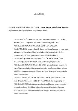 hkuk 467 sanal mahkeme vı (prof. dr. meral sungurtekin özkan şubesi)