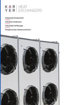 KA-KB-KC Endüstriyel Tip Kondenserler Kataloğu