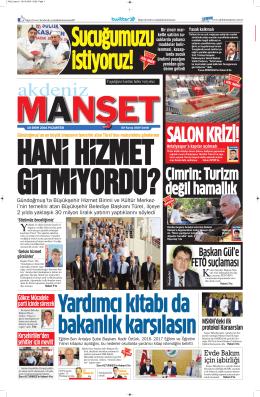 Çimrin: Turizm değil hamallık - Antalya Haber - Haberler