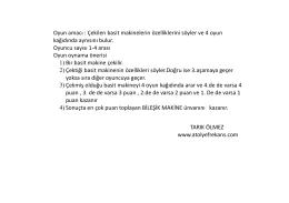 Mobil için PDF hali - Fen Okulu  www.fenokulu.net