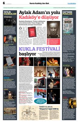 kukla festivali - Kadiköy