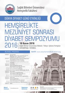 dünya diyabet günü etkinliği - Sağlık Bilimleri Üniversitesi
