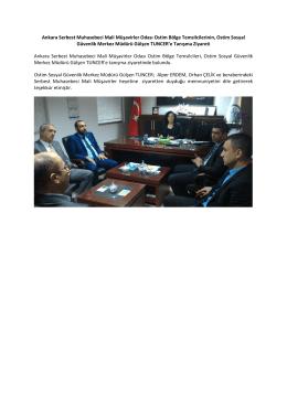 Ankara Serbest Muhasebeci Mali Müşavirler Odası Ostim