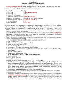 kantin - Üsküdar İlçe Milli Eğitim Müdürlüğü