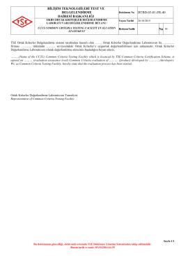 OKBS Ortak Kriterler Değerlendirme Laboratuvarı
