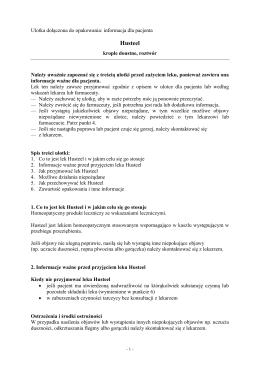Husteel - Wyszukiwarka produktów leczniczych