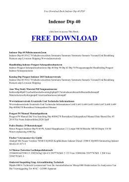INDENOR DTP 40 FREE DOWNLOAD EBOOK