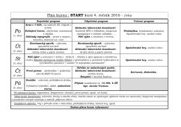 START_2016_plan - Základní škola kpt. Jaroše