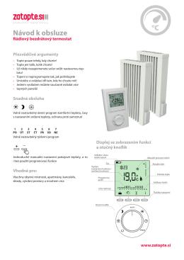 Bezdratovy radiovy termostat FUNK.qxp_Sestava 1