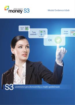 účetnictví pro živnostníky a malé společnosti Modul Evidence tržeb