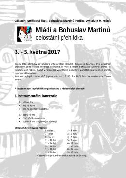 Propozice MBM 2017 - ZUŠ Bohuslava Martinů Polička